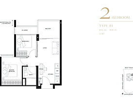 Type B1 - The Linq at Beauty World's floor plan