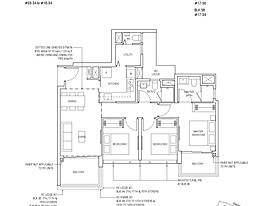 Type A3a - Piermont Grand's floor plan
